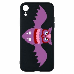 Phone case for iPhone XR Owl bright color