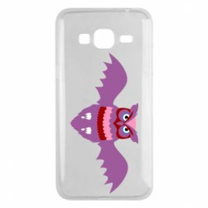 Phone case for Samsung J3 2016 Owl bright color