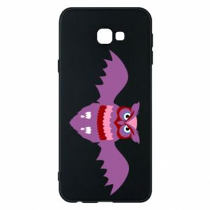 Phone case for Samsung J4 Plus 2018 Owl bright color