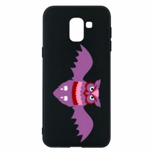 Phone case for Samsung J6 Owl bright color - PrintSalon