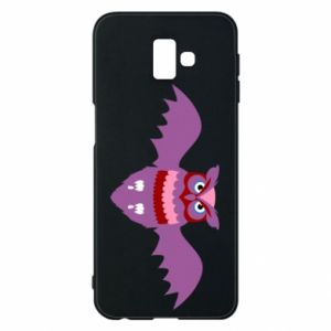 Phone case for Samsung J6 Plus 2018 Owl bright color - PrintSalon