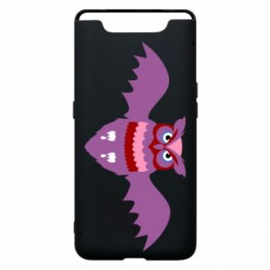Phone case for Samsung A80 Owl bright color