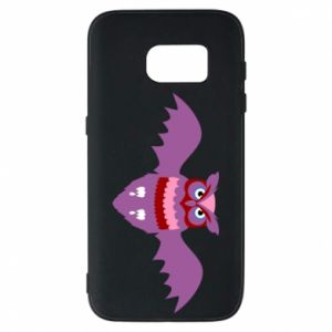 Phone case for Samsung S7 Owl bright color