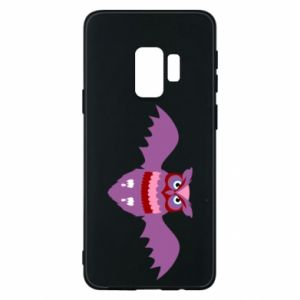 Phone case for Samsung S9 Owl bright color - PrintSalon