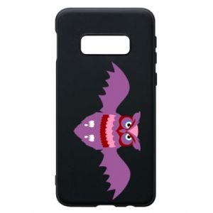 Phone case for Samsung S10e Owl bright color