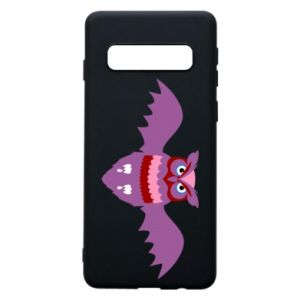 Phone case for Samsung S10 Owl bright color - PrintSalon