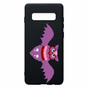 Phone case for Samsung S10+ Owl bright color