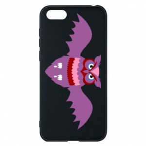 Phone case for Huawei Y5 2018 Owl bright color - PrintSalon