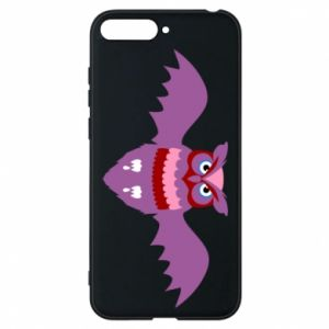 Phone case for Huawei Y6 2018 Owl bright color