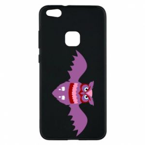 Phone case for Huawei P10 Lite Owl bright color - PrintSalon