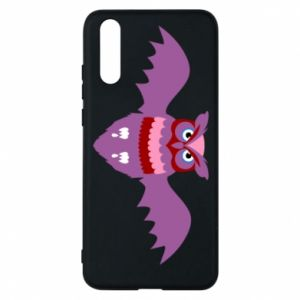 Phone case for Huawei P20 Owl bright color - PrintSalon