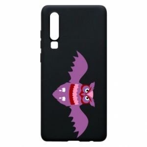 Phone case for Huawei P30 Owl bright color