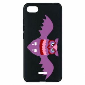Phone case for Xiaomi Redmi 6A Owl bright color - PrintSalon