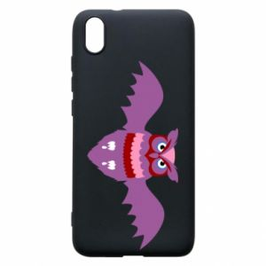 Phone case for Xiaomi Redmi 7A Owl bright color - PrintSalon