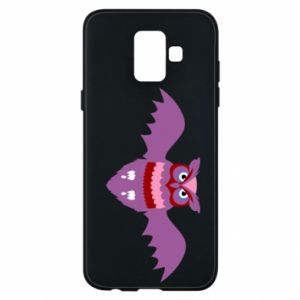 Phone case for Samsung A6 2018 Owl bright color