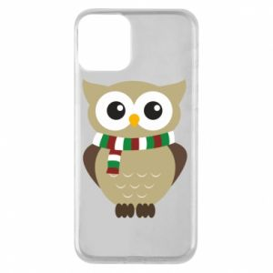 Phone case for iPhone 11 Owl in a scarf