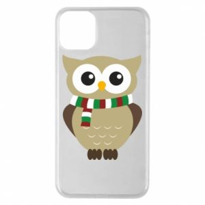 Phone case for iPhone 11 Pro Max Owl in a scarf