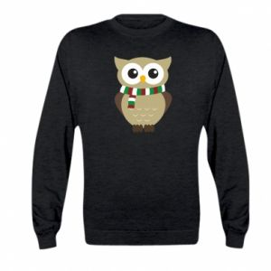 Kid's sweatshirt Owl in a scarf