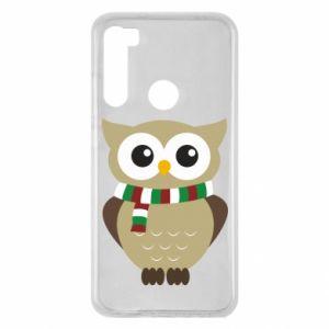 Xiaomi Redmi Note 8 Case Owl in a scarf