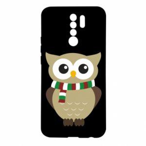 Xiaomi Redmi 9 Case Owl in a scarf