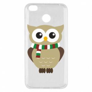 Xiaomi Redmi 4X Case Owl in a scarf