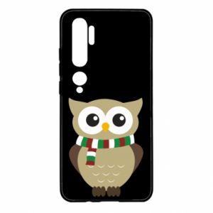 Etui na Xiaomi Mi Note 10 Sowa w szaliku