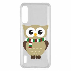 Xiaomi Mi A3 Case Owl in a scarf