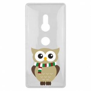 Sony Xperia XZ2 Case Owl in a scarf