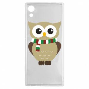 Sony Xperia XA1 Case Owl in a scarf