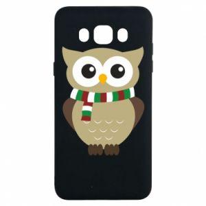 Samsung J7 2016 Case Owl in a scarf