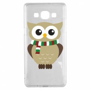 Samsung A5 2015 Case Owl in a scarf