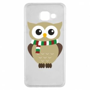Samsung A3 2016 Case Owl in a scarf