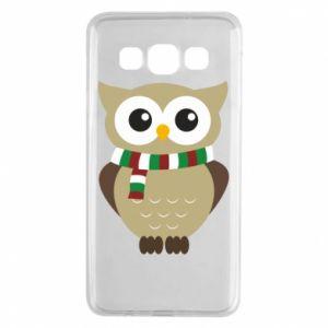 Samsung A3 2015 Case Owl in a scarf