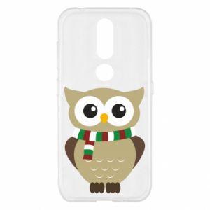 Nokia 4.2 Case Owl in a scarf