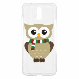 Nokia 2.3 Case Owl in a scarf