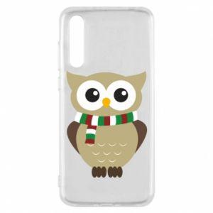 Huawei P20 Pro Case Owl in a scarf