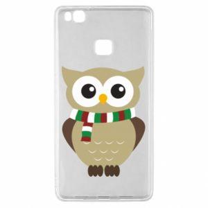 Huawei P9 Lite Case Owl in a scarf