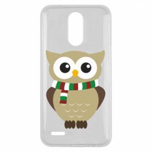 Lg K10 2017 Case Owl in a scarf