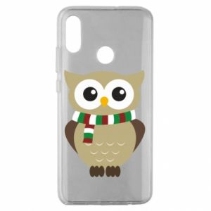 Huawei Honor 10 Lite Case Owl in a scarf