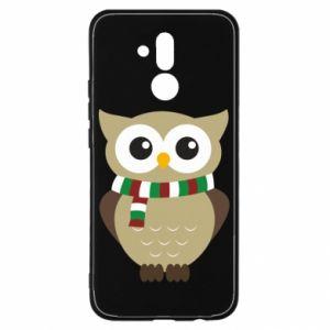 Etui na Huawei Mate 20 Lite Sowa w szaliku