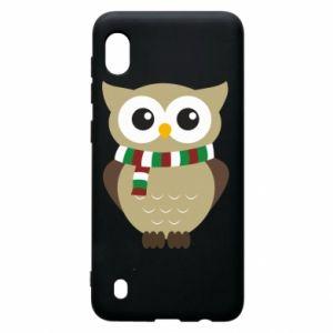 Samsung A10 Case Owl in a scarf