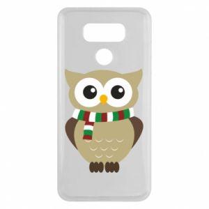 LG G6 Case Owl in a scarf