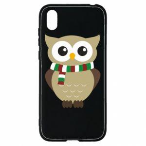 Huawei Y5 2019 Case Owl in a scarf