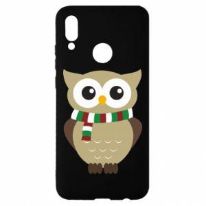 Huawei P Smart 2019 Case Owl in a scarf