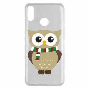 Huawei Y9 2019 Case Owl in a scarf