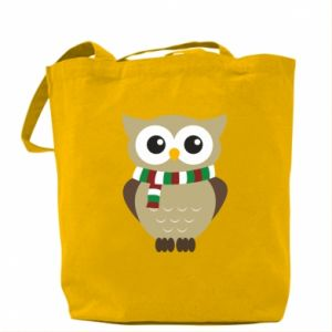 Bag Owl in a scarf