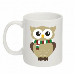 Mug 330ml Owl in a scarf