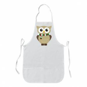 Apron Owl in a scarf