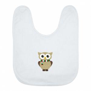 Bib Owl in a scarf