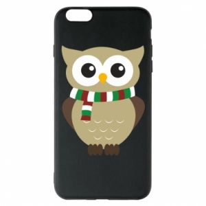 Phone case for iPhone 6 Plus/6S Plus Owl in a scarf